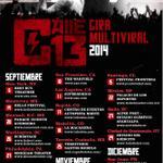 RT @Multi_Viral: ¿Dónde se estará presentando @Calle13Oficial proximamente? Acá tienen las fechas pa que vayan separando el día! http://t.c…