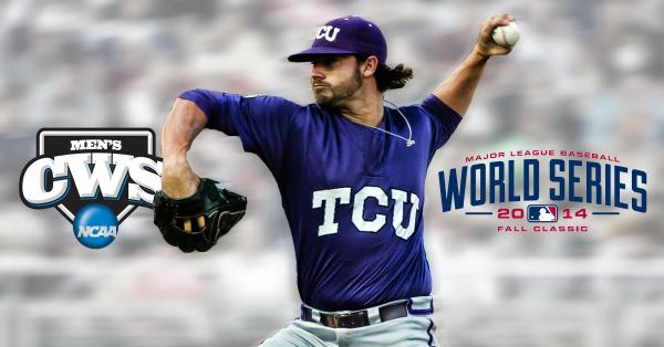 "#TakeTheCrown ""@NCAACWS: Congrats to Brandon Finnegan!  First ever to go from #CWS to #WorldSeries in the same year! http://t.co/IjYiDXcqny"""