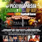 TONIGHT #FAMU vs #BCU AFTER PARTY @DATBOIYUALL @ObeyMyCrown__ @Phat_fhat @LexxMichele @Addictive_Kie @SlimKeepItG_ ~> http://t.co/nRV4CUqs7Z
