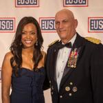 Real honor hosting @the_USO Gala. Got to honor incredible servicemen & women & the volunteers that serve them. Cool. http://t.co/c36H7JTp3c