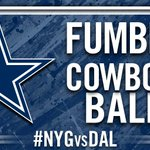 RT @dallascowboys: FUMBLE!!! Cowboys recover!! #NYGvsDAL http://t.co/0Sy15O8FaR