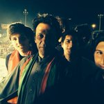 RT @ZarlashtFaisal: @ImranKhanPTI with the two loves of his life, his sons.Suleiman & Qasim. Makes me really happy to see them together. http://t.co/3RHaJEwZKa