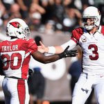 Cardinals beat Raiders, 24-13. Arizona improves to 5-1, Carson Palmer is now 10-2 in his last 12 starts. http://t.co/rSKyYpv4zX