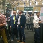 So here we go, @LionsharpCom ready for #TCDisrupt London! Stand ready with some friendly familiar faces around @MxGur http://t.co/QeXHEmapXs