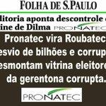 Mais uma farsa petista foi descoberta, desvio de bilhões do PRONATEC #CrimePetista #ForaDilma #EmTodoBrasilAecio45 http://t.co/EBeDHnmzrM