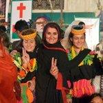 """""""@ZarlashtFaisal: Proud to see women of #Kalash Valley at #AzadiSquare on #PTI #Pakistan Minorities Day http://t.co/fjiRvxETr2"""""""