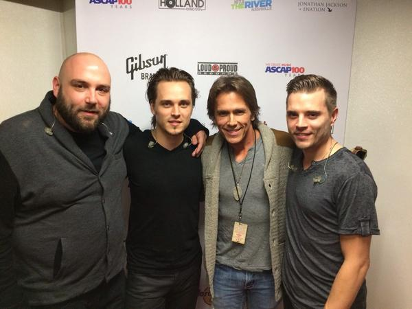 What a great night in support of @Enation new record! Go check them out! You rocked it @JonathanJackson http://t.co/ISXyQCx0jS