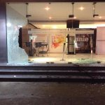 Chennai Satyam theater glass are broken by unidentified people http://t.co/WXjOrnMJix