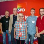 Am vergangenen Wochenende fand in Nürnberg der #SchwusosBuko14 statt. Natürlich war auch eine #RLP-Delegation dabei! http://t.co/h7vhjteqwN