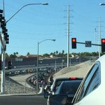 #Vegas drivers - 215 S is a parking lot at Cheyenne. Take alternate. http://t.co/dLfL5LVmCH