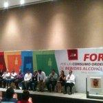 Inicia en Carmen el Foro Por Un Consumo Ordenado De Bebidas Alcohólicas. http://t.co/pYpwV04Oyd