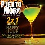 ¡#HappyHour Time en @PuertoMoro! Cocteles 2x1 hasta las 20H00 #Machala #Guayaquil http://t.co/WMdEFNc1X5