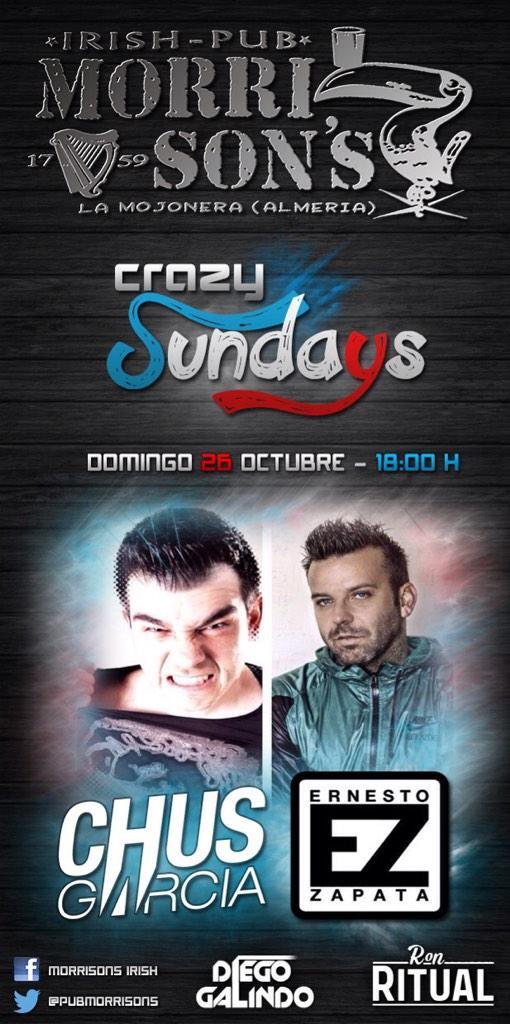 ESTE DOMINGO ᅢᄚᅤ쟤가때ᄚᅤ쟤가때ᄚᅤ쟤가때ᄚᅤ쟤가때ᄚᅤ쟤가때ᄚᅤ쟤가ᄄ CRAZY SUNDAYS ᅢᄚᅤ쟤ᄑ¬タᄚᅢᄚᅤ쟤ᄑ¬タᄚᅢᄚᅤ쟤ᄑ¬タᄚᅢᄚᅤ쟤ᄑ¬タᄚᅢᄚᅤ쟤ᄑ¬タᄚᅢᄚᅤ쟤ᄑ¬タᄚ CON LOS DJS MAS CAᅢテ¬タリEROS DE ALMERIA ᅢ까ン¬タヤᅢᆵᅡ자マ CHUS GARCIA Y ERNESTO ZAPATA  ᅢᄚᅤᄌ¬タンᅤᅠᅢᄚᅤᄌ¬タンᅤᅠᅢᄚᅤᄌ¬タンᅤᅠᅢᄚᅤ쟤가때ᄚᅤᄌ¬タ