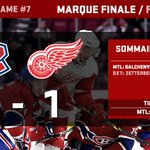 RT @CanadiensMTL: Marque finale / Final score: Canadiens 2, Red Wings 1 #GoHabsGo http://t.co/jENb5bFQWK