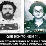 """RT @MyrianDauer: Os """"presidentes"""" que o pt deu ao Brasil… chega né? agora é #AecioPeloBR45IL! http://t.co/UjP1j9RGOw"""