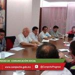 RT @JorgeArgaez: Reunión de seguimiento de la depresión tropical. Recuerden estar atentos de los reportes oficiales. http://t.co/X5U4qJxOyE
