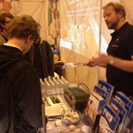 RT @swansci4: @SwanseaUni s @Ed_Pope chats about Mumbles mussels @SkillsCymru today. Pop along for more science in action! http://t.co/tgW2FpJADU