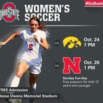 RT @OhioState_WSOC: Stop on out to JOMS as the Buckeyes continue B1G Tourney push against Iowa, Nebraska this weekend! #GoBucks http://t.co/dfPXy7UjKh