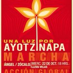 RT @sopitas: Hoy prendemos una luz por Ayotzinapa #EPNBringThemBack Nos vemos en el Ángel http://t.co/MgLUPo1aZK http://t.co/9cFxqeA0oh