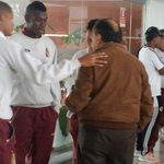 RT @cdtolima: Arriba al hotel de concentración en Tunja Gabriel Camargo Salamanca Presidente del Club Deportes Tolima. http://t.co/kUXseEp4M7
