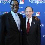 Royals HOF & Veteran John Mayberry w/ Robert McDonald, US Sec of Veterans Affairs at MLB's @wbveterans event Tues. http://t.co/NjkWfbRMMX