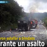 RT @elcomerciocom: #Seguridad / Durante un asalto sospechosos hicieron estallar un blindado » http://t.co/15xLqbg6k1 http://t.co/iB2y7G98Fx