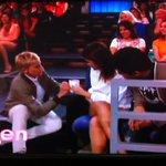 Repost @loveFilipino Ellen holding cup w/ @bernardokath @imdanielpadilla airing 2day 4pm @TheEllenShow @abscbndotcom http://t.co/ToHhlGObiO