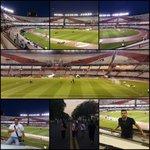#CopaSudamericana El Monumental se va poblando. El equipo de la @780am en la previa esperando la hazaña de #Libertad http://t.co/LWPmL3eIvw