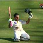 RT @PTVSp0rts: Sarfraz Ahmed`s century in 80 balls. Congratulations! http://t.co/457oyBUiwS