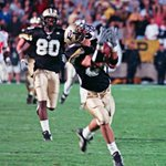 Throwback Thursday: Brees to Morales for a 64-yard TD strike vs. Ohio State in 2000. Listen: http://t.co/1GtrB9FsqB http://t.co/KDfYDFKQOG