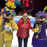 Best day ever!!! Mardi Gras with Mickey and Minnie! #liveonk2 #DisneyOnIce http://t.co/Nxdkr9Dtsb
