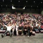오늘 레드카펫 개봉하는 날!!! 무대인사 와주신 모든분들 께 감사합니다^^ 레드카펫 화이팅!!!! http://t.co/S3MHLfxrdm