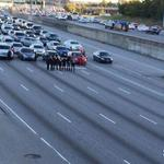 RT @ajc: ICYMI: Protesters temporarily block Downtown Connector. http://t.co/YZiOp97ACe http://t.co/QmXXmcsdGW