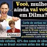 ELEITOR RT @VixXavier: O remédio de câncer q #Dilma tomou ela proibiu para todos os brasileiros. #Aecio45PeloBrasil i http://t.co/Pp00s3DGf7