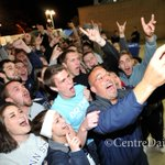 RT @csweddle: .@coachjfranklin stopped by @NittanyvillePSU for a short visit and a selfie with the campers tonight. http://t.co/0eVJczuSbO