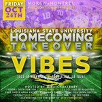 RT @DevinMontrel: Ladies FREE til 11???????? LSU HOMECOMING TAKEOVER ???????? Celebrating my birthday!! DM me for my list at VIBES‼️ http://t.co/15jyhVzz2j