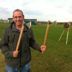 It seems that some of Robin Hoods woodland skills, like axe throwing, are becoming popular pastimes in Notts... http://t.co/NmNAYeGAS4