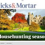 Todays Bricks & Mortar. In The Times. Shades of autumn http://t.co/Sg8Gbzbbyc