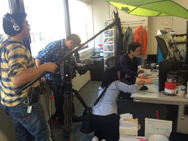 TV取材完了しました。11月中旬のテレビ北海道「けいざいナビ」で放送されます!! http://t.co/epm5W1zLQh