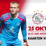 #Ajax neemt het zaterdag op tegen Go Ahead Eagles! Tickets verkrijgbaar vanaf € 15. http://t.co/ky7rqwOZ1T #ajagae
