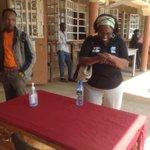 RT @Rnagila: #Kenya #Namanga border, visitors encouraged to sanitize their hands http://t.co/NwJML1NjDu