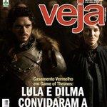 """""""@felipepena: Revista Veja faz denúncia sobre Game of Thrones http://t.co/rjOrLBNYe1"""" Agora fiquei triste, isso já é demais :("""