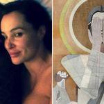 Irish WR takes bed selfie with porn star Lisa Ann: http://t.co/vftlwxboYO Look away Touchdown Jesus, look away!!! http://t.co/0P8ZXFMZT4