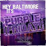 Happy #PurpleFriday #Ravens Nation! http://t.co/FfUTM0LxEI