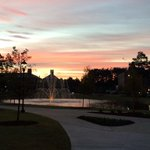 Any morning is a good morning when your campus has this beautiful sunrise. #CCU: http://t.co/1o7Me9P82j