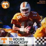 16 Hours To Kickoff: #16 Peyton Manning led #Vols to three wins over #Bama & threw for 7 TDs and 919 yards in 4 games http://t.co/94MujG0Q2E