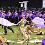 Guard weaving through the field for BD #boa2014 #boanextlevel http://t.co/W2HfsGu9GL
