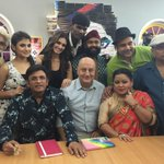 It was wonderful and hilarious to shoot with the very talented team Comedy Classes.:) #TheShaukeens #lifeOk