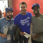 RT @JRiegerCo: Look whos representin #KansasCityWhiskey in San Fran during Game 3: @RobRiggle! #KC #TakeTheCrown http://t.co/nC2w6kqxzC