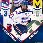 RT @RiverHawkHockey: After a busy 2nd period here at the @TsongasCenter @umichhockey leads UML 6-3 #UnitedInBlue http://t.co/Qg58QSKG4Y